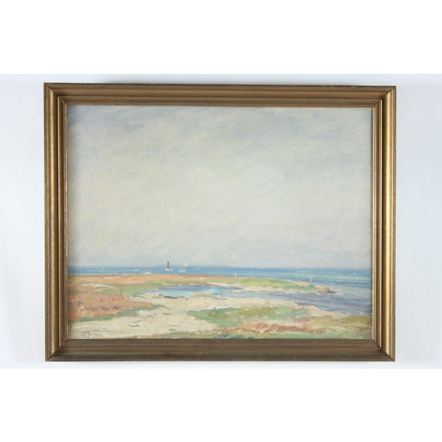 Image of Beach Impression Oil on Canvas - 1931