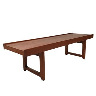 Torbjørn Afdal for Bruksbo Sturdy Teak Bench or Table from Norway