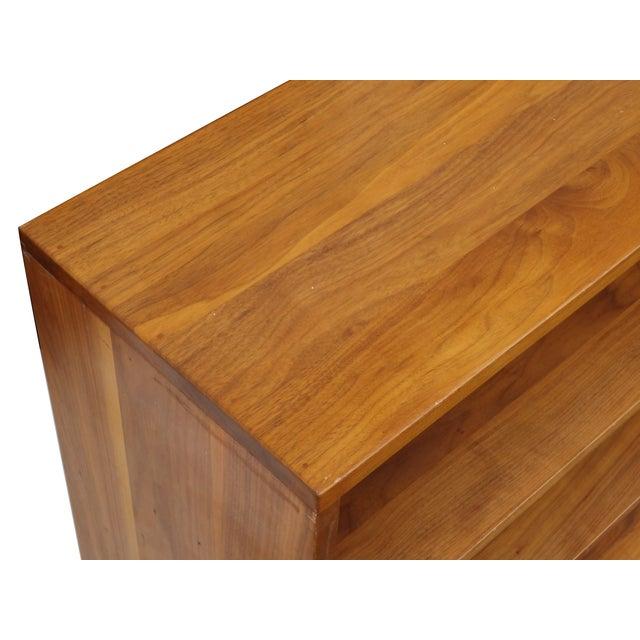 Solid Walnut Studio Bookshelf - Image 6 of 10