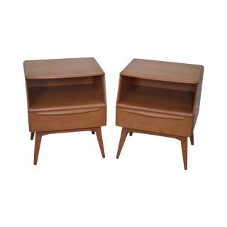 Heywood Wakefield Mid-Century Nightstands - A Pair