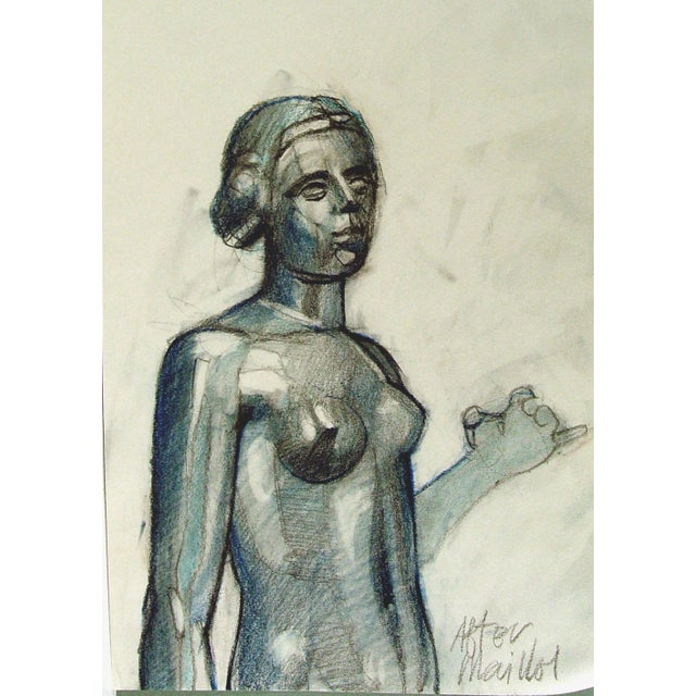 "Image of Steve Hodges ""After Maillol"" Sculpture Study"