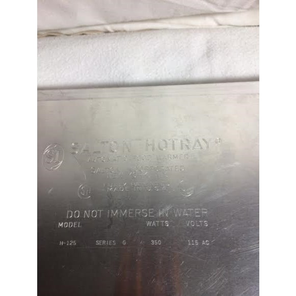 Vintage Salton Warming Tray - Image 5 of 5
