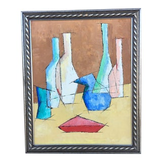 Glassware Acrylic Abstract Painting