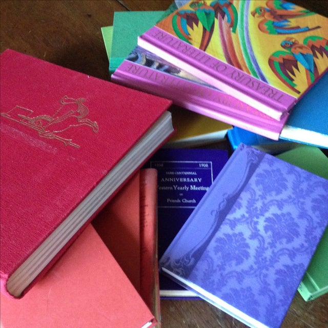 Brightly Colored Decorative Books - Set of 13 - Image 11 of 11