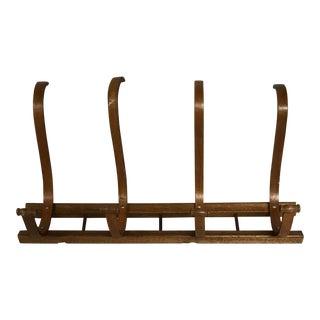 Mid-Century Bentwood Coat Rack