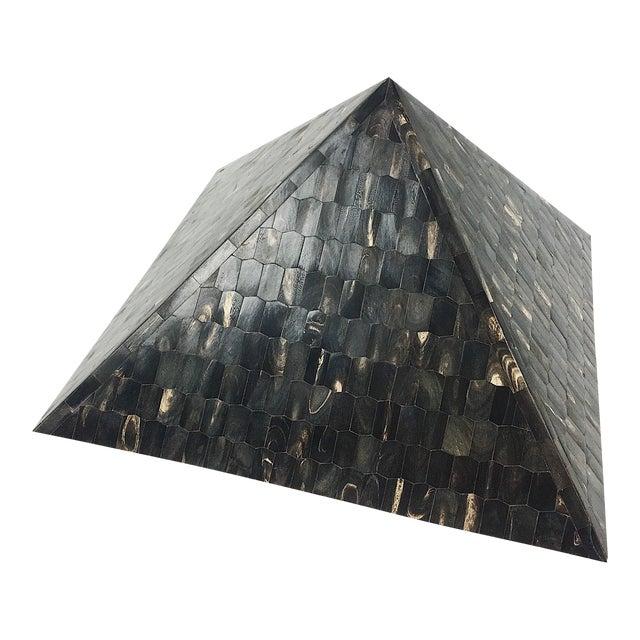 Vintage Tessellated Horn Pyramid - Image 1 of 8