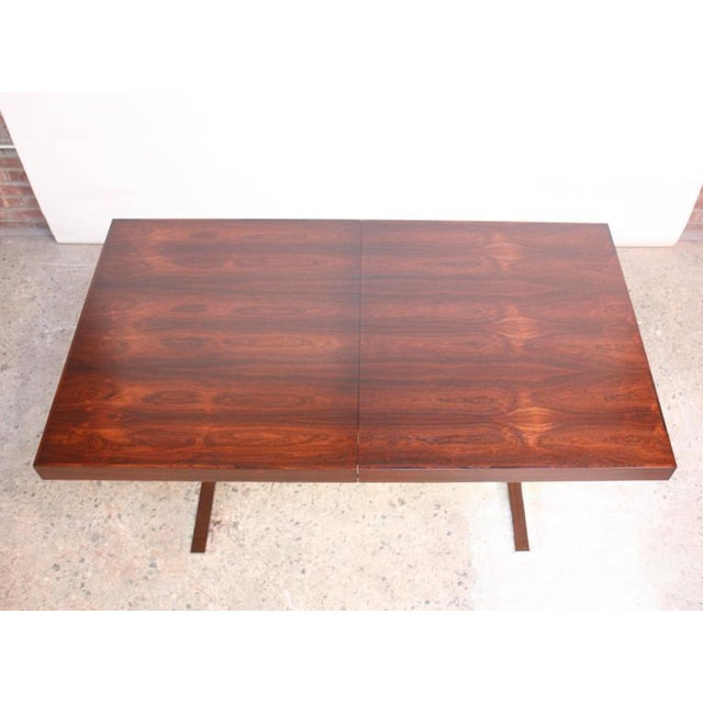 Poul Nørreklit Low Rosewood Extension Table for Georg Petersens - Image 6 of 10