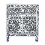 Charcoal Mother Of Pearl Inlay Cabinet