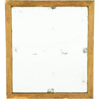19th Century Gold Gilt Mirror