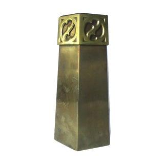 Gorham & Company Hexagonal Bronze Vase