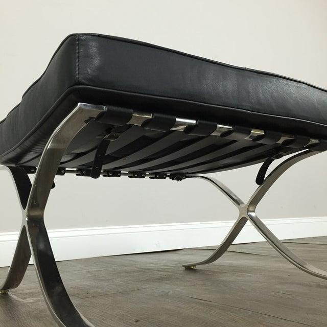 Barcelona Chairs & Ottoman - Set of 3 - Image 11 of 11