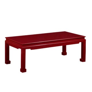 Red Ming Coffee Table