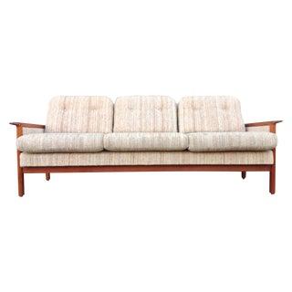 Mid Century Danish Teak Sofa