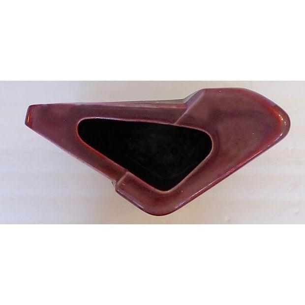 Sculptural Art Pottery Vase - Image 5 of 6