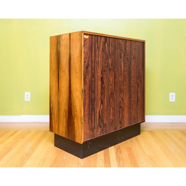 Mid Century Westnofa Rosewood Highboy Dresser - Image 10 of 11