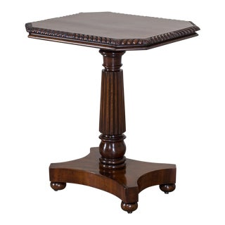 Antique English William IV Metamorphic Mahogany Table circa 1835