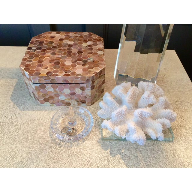 Image of Mother of Pearl Tiled Box