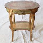 Image of I.Magnin Italian Florentine Table W/ Drawer