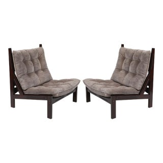 Illum Wikkelso Scale Lounge Chairs - A Pair
