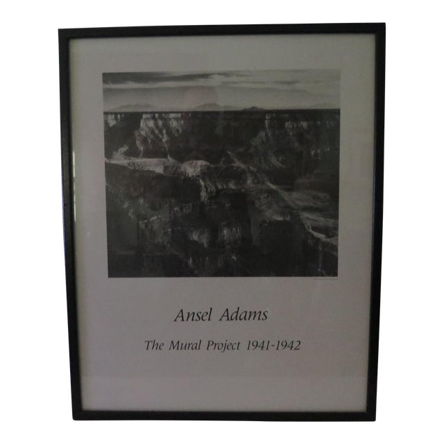 Vintage ansel adams mural project poster chairish for Ansel adams mural project 1941