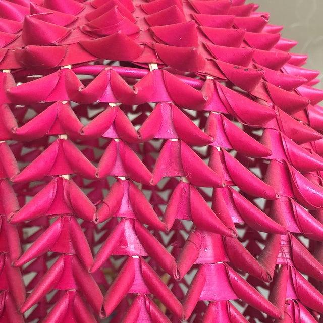 Fuchsia Basket Pendant Lamps - A Pair - Image 3 of 4