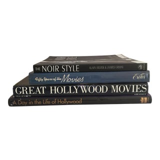Vintage Hollywood Moviemaking Books - Set of 4