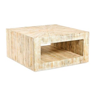 Soleil Driftwood Coffee Table
