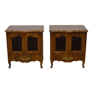 John Widdicomb French Style Nightstands - A Pair