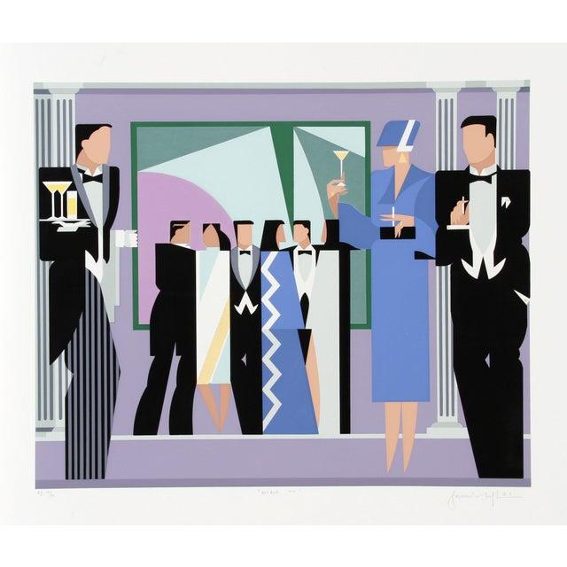 Giancarlo Impiglia - Black Tie Serigraph - Image 1 of 2