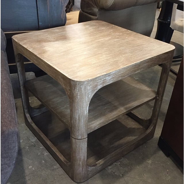 Modern Two-Tier Accent Table - Image 5 of 6