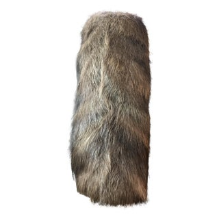 Modern Fur Neck Pillow