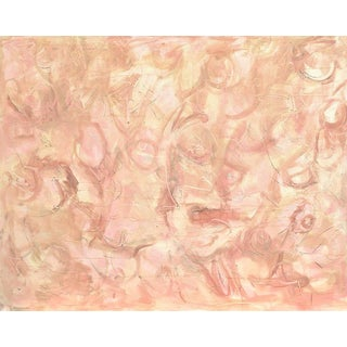"Extra-Large Abstract Expressionist Painting by Trixie Pitts ""Dreaming of You"""