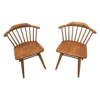 Russel Wright Conant Ball Chairs - A Pair