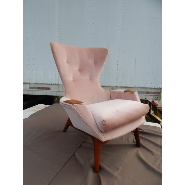 Image of Adrian Pearsall Mid Century Modern Wing Chair