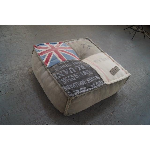 Restoration Hardware Square Floor Pillow/Ottoman Chairish