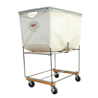 Vintage Dandux Industrial Laundry Cart