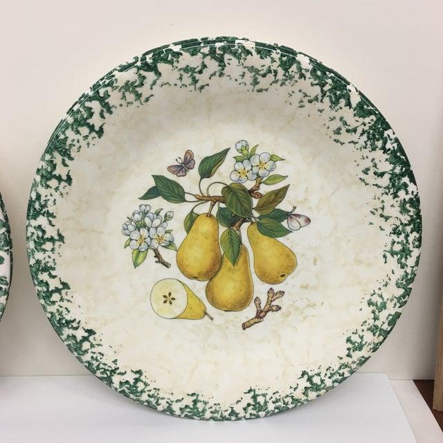 Italian Tre Ci Fruit Plates - Set of 6 - Image 4 of 11