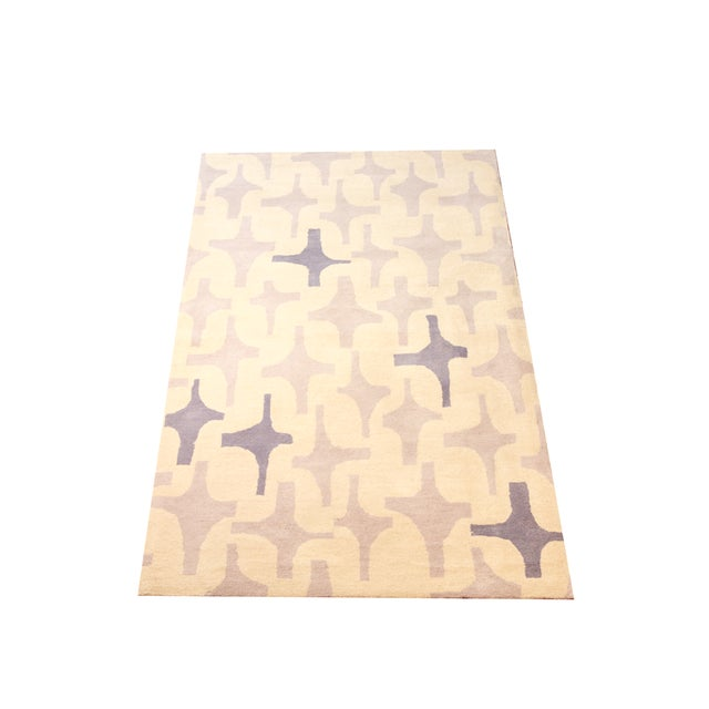 "Lotta Jansdotter Slate ""Decorativa"" Rug - 8' x 11' - Image 1 of 7"