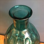 Image of Large Turquoise Glass Vessel