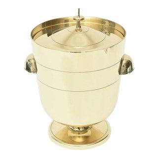 Vintage Midcentury Tommi Parzinger Brass Ice Bucket Champagne Bucket Barware