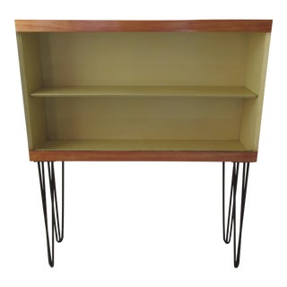 Vintage Winchendon Furniture Co. Modernist Hairpin Legged Hutch