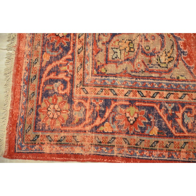 Image of Faded Anatolian Turkish Rug - 8′8″ × 12′11″