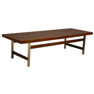 Lane Formica & Aluminum Coffee Table