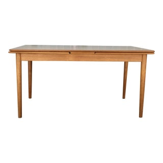 Refinished Teak Dining Table