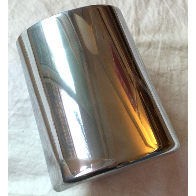 Silver Tilted Wine Chiller - Image 5 of 5