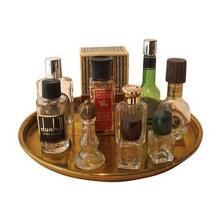 Vintage Mini Cologne Perfume Bottle Collection