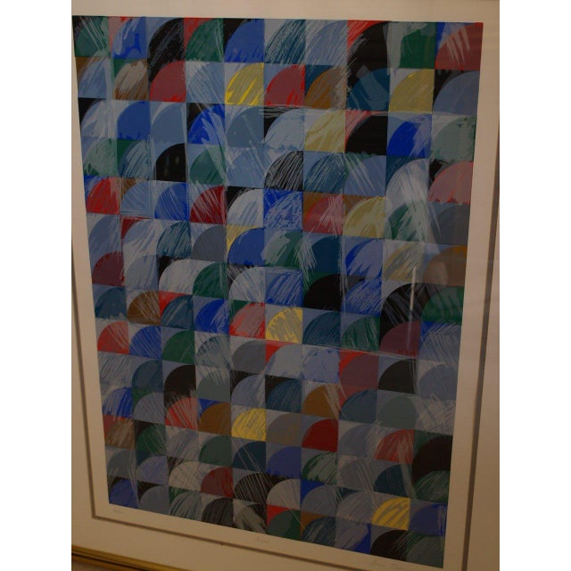 """Ann Thornycroft Abstract Lithograph Titled """"Anel"""" - Image 3 of 6"""