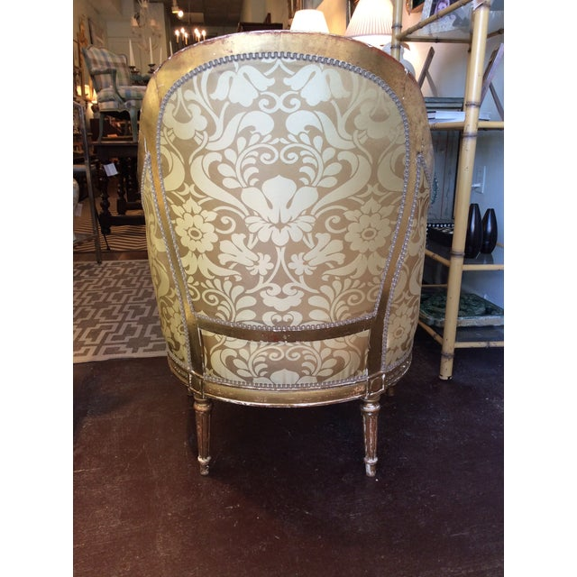 19th Century Antique Giltwood Chairs - Pair - Image 4 of 5