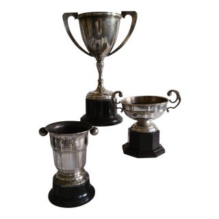 Vintage Sport Trophies - Set of 3