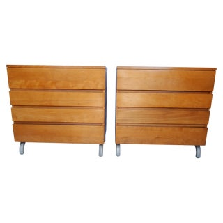 Mid-Century Chests by Kensington- A Pair